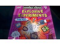 Jigsaw puzzle & explosive experiment