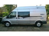 2008 ford transit new profesional 2 berth motorhome conversion low mileage 68k