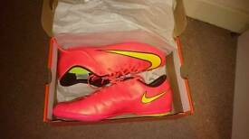 Nike football boots, size 10