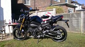 Yamaha FZ8 black 2014