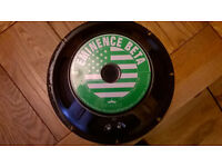 "12"" eminence beta speaker and a 12"" uknown speaker 8 ohm"