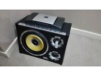 Subwoofer Vibe 12 + Amplifier Alpine V12