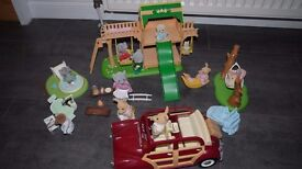 Sylvanian Families - 3 FAMILIES & LOTS OF EXTRAS