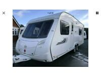 Swift charisma 620 touring caravan 2008 fixed bed twin axle superb