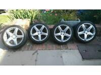 4x100 momo gtr alloy wheels