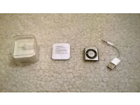 Ipod Shuffle 2GB 4th Gen Silver BOXED AS NEW £30 ONO