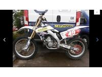 Cr 250 2 stroke 2004