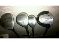 Clubs for sale.