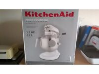 Kitchen Aid Professional 6.9 Litre Mixer (Never been used and in box)