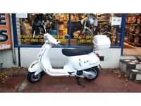 Vespa LX 125 Scooter For Sale Year 2012 New MOT & with 3 Months Warranty