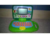 Kids toys (Thomas engine railway set, LeapFrog Leaptop, Writing kit, puzzles, Drawing Board)