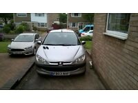 Peugeot 206 Still Running but most probably for spares and repairs