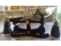 Old fashioned Salter balance kitchen scales