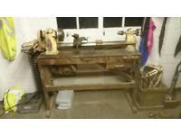 Myford ML8 woodturning lathe