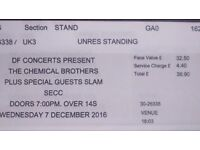 1X CHEMICAL BROTHERS SECC GLASGOW Wed 7th December