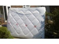 1 King size mattress ad 2 single mattresses. Used.