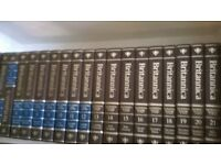 SET OF ENCYCLOPAEDIA BRITANNICA:IDEAL FOR STUDENT/BOOK LOVER/RESEARCHER.