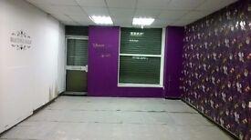 Shop to let/hairdresser/salon/nail bar/boutique/retail