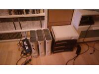 7x xbox 360 consoles - job lot, parts
