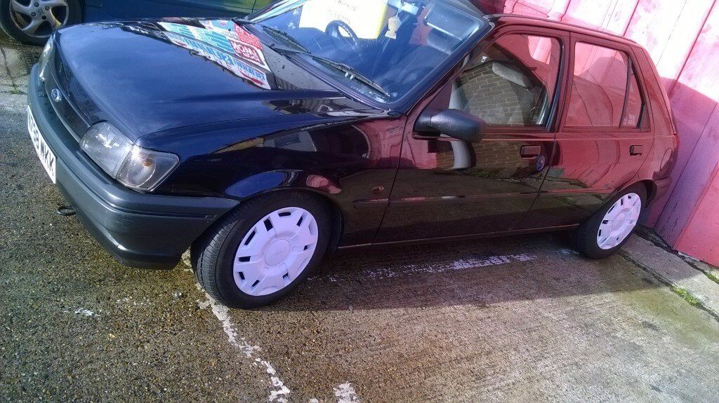 classic mk3 fiesta diesel modified ideal first car or very cheap runabout