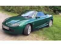 *FOR SALE* - MGTF 160 - RACING GREEN