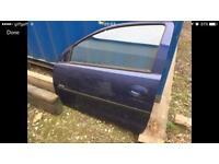 Vauxhall Corsa C passenger door 3 door