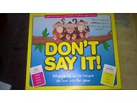 Dont say it board game (immaculate condition)