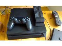 Playstation 4 500GB Slim Witcher3/RainbowSixSiege/XCOM2/TrialsFusion