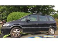 Opel zafira spares or repair