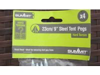 Steel Camping Pegs