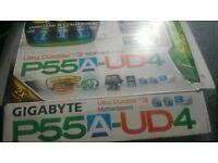 GIGABYTE P55A-UD4 motherboard