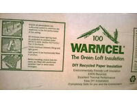 Warmcel 100 Insulation for sale - 10 bags @ £6.00 per bag