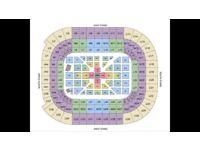 3x Anthony Joshua vs Carlos Takem Tickets Floor Seats