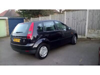 Ford Fiesta Finesse, 1242cc, black, 76,000 miles.