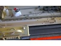 KH910 Knitting Machine, fully serviced by Drummonds, Haymarket. Excellent condition. Extras