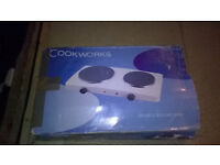 Cookworks Table top Double Boiling Ring