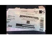 Boardmasters Festival Friday Day Ticket