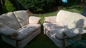Two lovely sofas for sale!