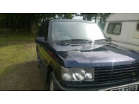 Range Rover P38 for sale or swap for van (with mot)