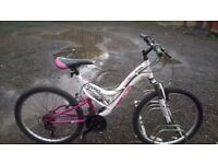TEENAGER /SMALL LADY MOUNTAIN BIKES 2 OFF IN GOOD CONDITION 24 INCH WHEELS
