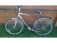 Reflex trekking 7 speed mens bike bycicle