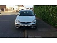 ford focus 1.6 petrol long mot 08.17 5 doors ready to go £375 spare or repair