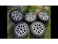 195/65/16 tyre profile. Came off vw t5 van