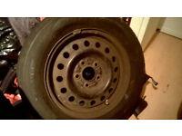 Steel wheel plus tyre 195/65R15