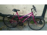 Girls bike ladies bike pink