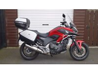 HONDA NC 750 X IN EXCELLENT CONDITION, FULL HONDA SERVICE HISTORY AND STILL UNDER HONDA WARRANTY.