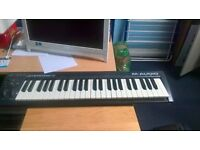 M-AUDIO Keystation49 midi controller keyboard