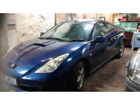 Toyota Celica for sale - spares or repairs