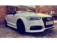 """""""ONE OFF A KIND"""" Audi A3 - S-Line ( NOT S3 )1.4 TFSI ( NO REPLICA ) LOW MILEAGE, MUST READ! PX ONO"""