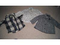 Baby boys shirts NEXT, MONSOON 6-12 months